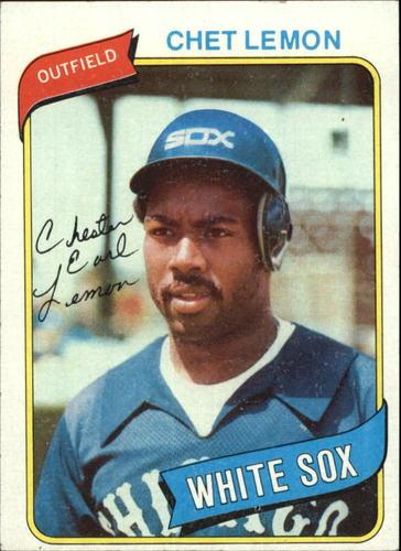 Photo of 1980 Topps #589 Chet Lemon