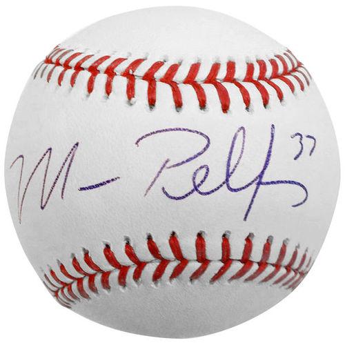 Photo of Mike Pelfrey Autographed Baseball