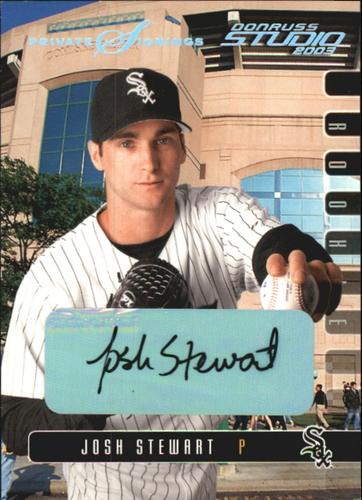 Photo of 2003 Studio Private Signings #24 Josh Stewart/200