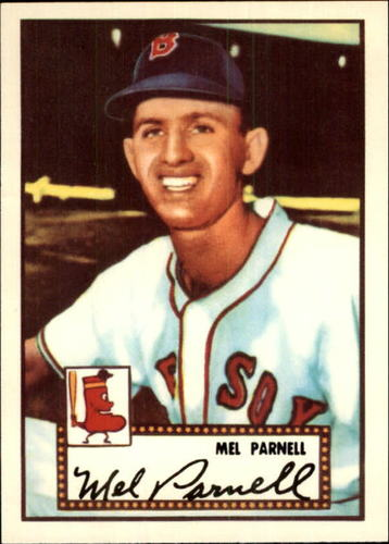 Photo of 1983 Topps 1952 Reprint #30 Mel Parnell