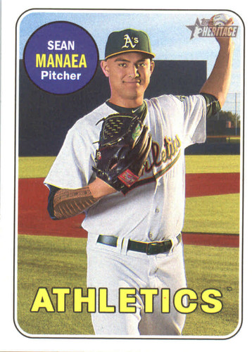 Photo of 2018 Topps Heritage #23 Sean Manaea