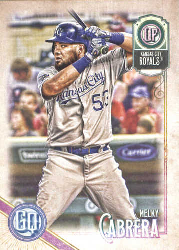 Photo of 2018 Topps Gypsy Queen #126 Melky Cabrera