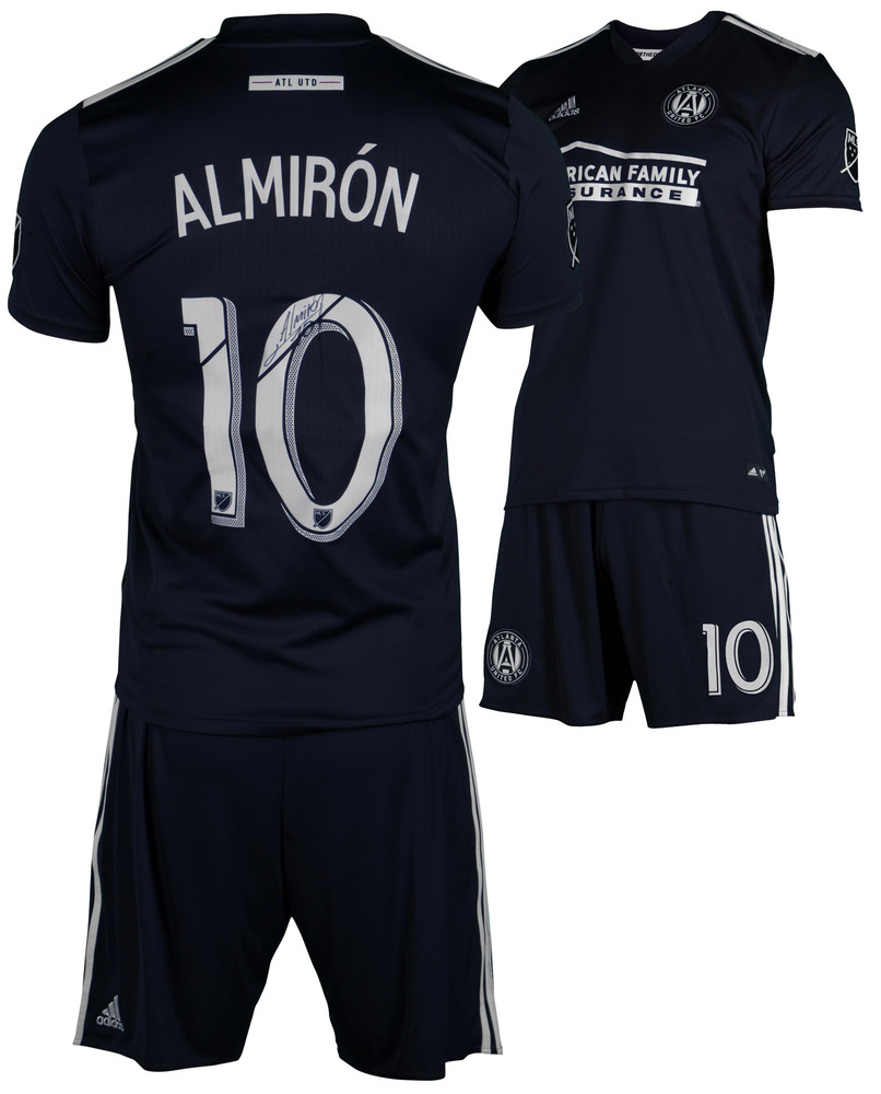 cheaper 73467 84753 Atlanta United FC Match-Worn and Autographed Miguel Almirón ...