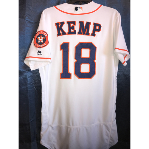 Photo of 2017 Game-Used Tony Kemp Home Jersey: Size - 40