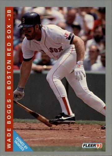 Photo of 1993 Fleer #554 Wade Boggs