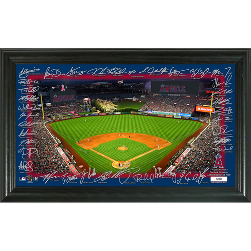 Photo of Los Angeles Angels Signature Field Photo Frame