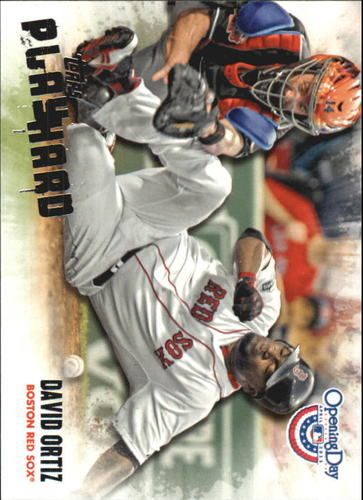Photo of 2013 Topps Opening Day Play Hard #PH11 David Ortiz