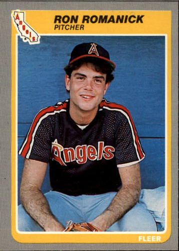 Photo of 1985 Fleer #309 Ron Romanick