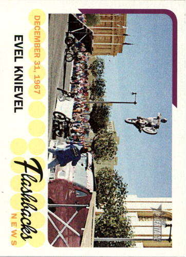 Photo of 2016 Topps Heritage News Flashbacks #NFEK Evel Knievel
