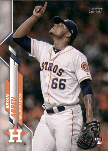 Photo of 2020 Topps #273 Bryan Abreu RC