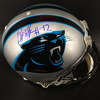 NFL - PANTHERS WR DJ MOORE SIGNED PROLINE HELMET W/ #12 INSCRIPTION