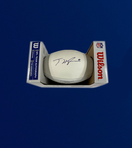 Photo of Rams TE Tyler Higbee Signed Panel Ball