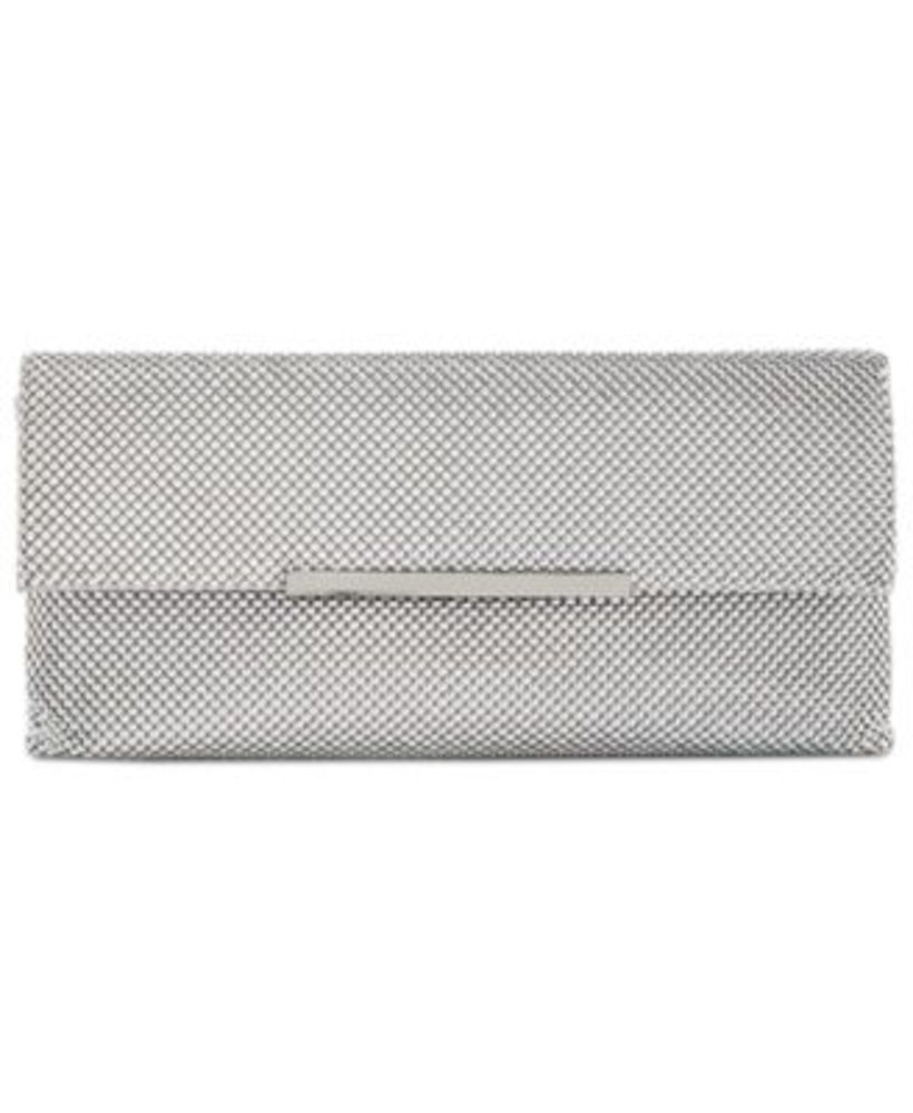 Photo of Inc Hether Shiny Mesh Clutch