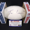 Dolphins - Ted Larsen Signed Panel Ball