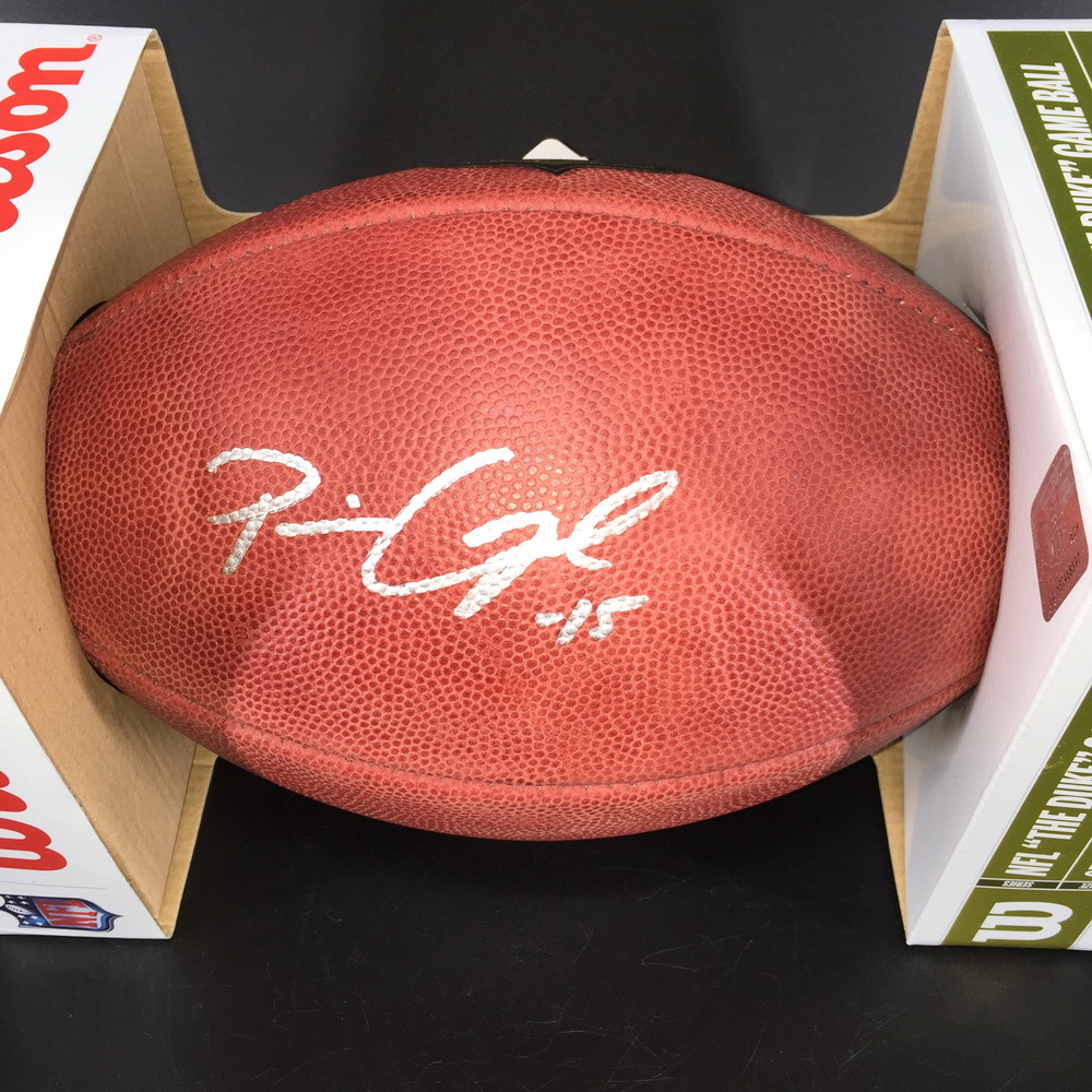 NFL - Colts Parris Campbell Signed Authentic Football