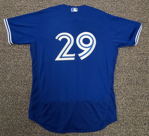 Photo of Authenticated Team Issued Spring Training Jersey: #29 TJ Zeuch (2021 Season). Size 48.