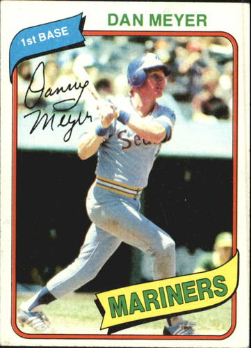 Photo of 1980 Topps #396 Dan Meyer