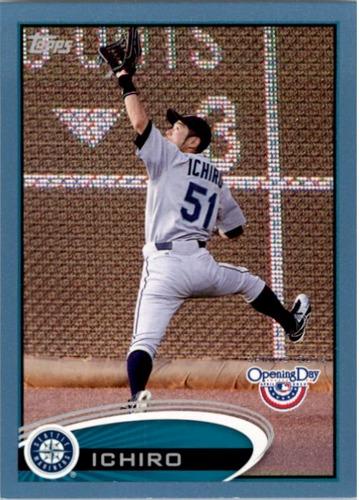 Photo of 2012 Topps Opening Day Blue #50 Ichiro Suzuki