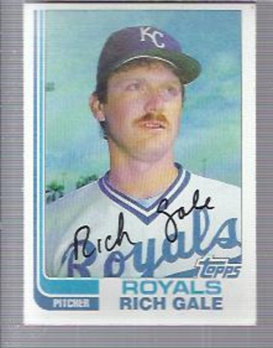 Photo of 1982 Topps #67 Rich Gale