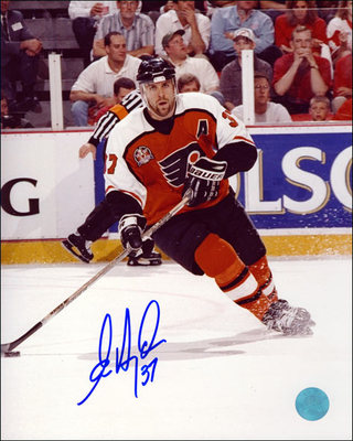 Eric Desjardins Philadelphia Flyers Autographed 16x20 Photo