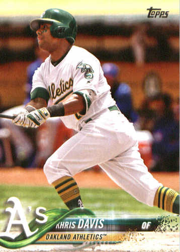 Photo of 2018 Topps #325 Khris Davis