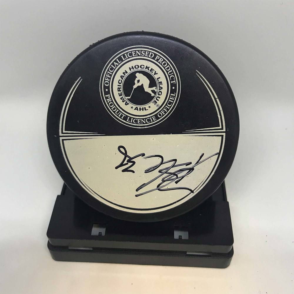 2013 Dunkin' Donuts AHL All-Star Classic Souvenir Puck Signed by #36 Drew Shore