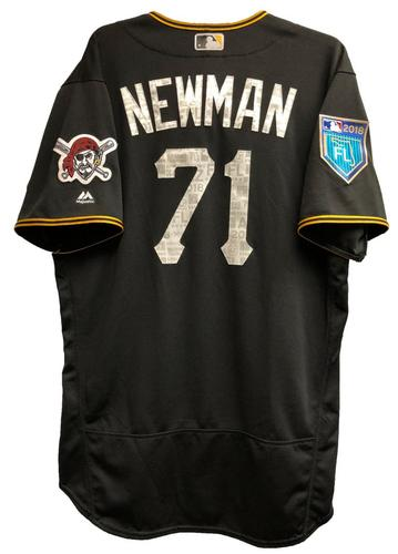 Photo of Kevin Newman Team-Issued 2018 Spring Training Jersey