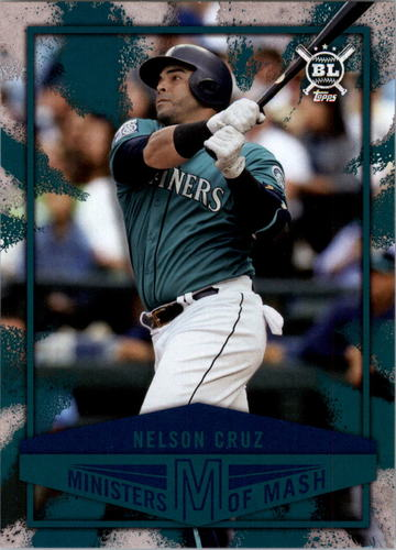 Photo of 2018 Topps Big League Ministers of Mash #MI7 Nelson Cruz