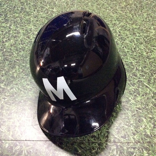 Photo of Lorenzo Cain 2018 Milwaukee Bears Game-Used Batting Helmet