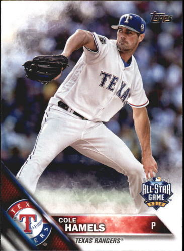 Photo of 2016 Topps Update #US38 Cole Hamels AS