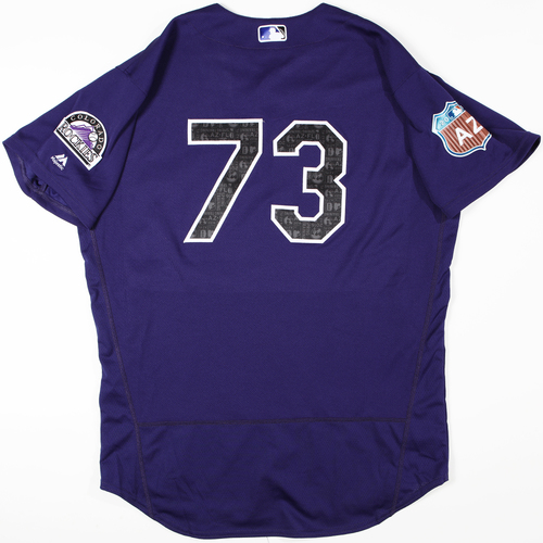Photo of 2016  Spring Training -  Game-Used Jersey - Kyle Freeland (Rockies) - Size 48