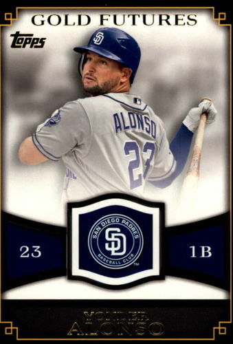 Photo of 2012 Topps Gold Futures #GF42 Yonder Alonso