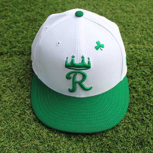 Photo of Team-Issued St. Patrick's Day Cap: Eric Skoglund (Size 7 1/8)