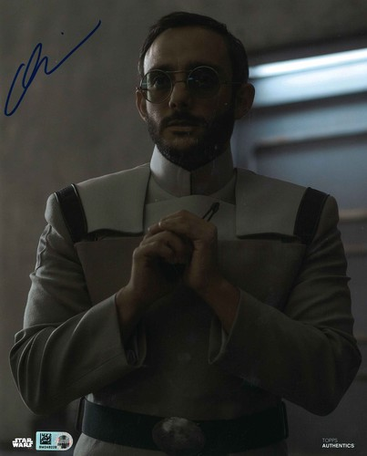Omid Abtahi As Dr. Pershing 8X10 AUTOGRAPHED IN 'Blue' INK PHOTO