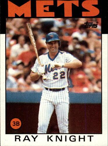 Photo of 1986 Topps #27 Ray Knight