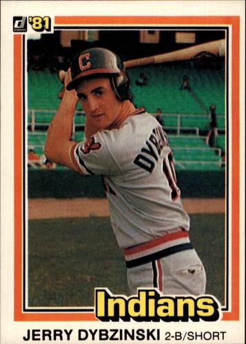 Photo of 1981 Donruss #438 Jerry Dybzinski RC