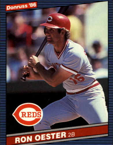 Photo of 1986 Donruss #81 Ron Oester