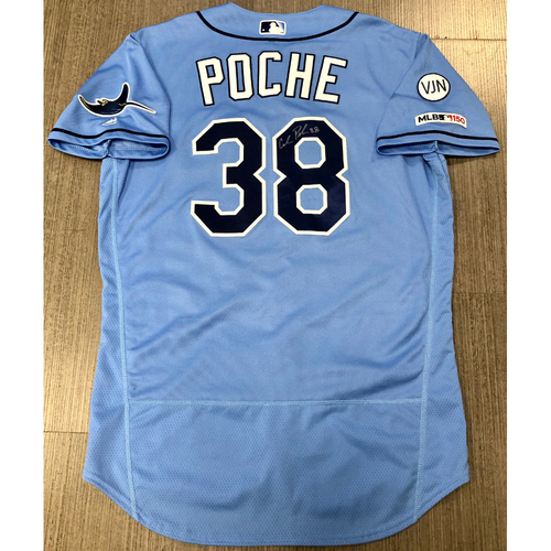 Photo of Team Issued Autographed Jersey: Colin Poche