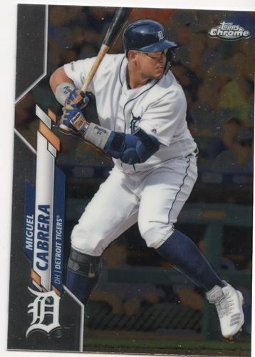 Photo of 2020 Topps Chrome #6 Miguel Cabrera