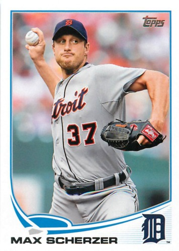 Photo of 2013 Topps #37 Max Scherzer