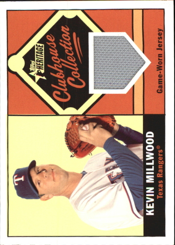 Photo of 2010 Topps Heritage Clubhouse Collection Relics #KMI Kevin Millwood