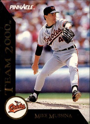 Photo of 1992 Pinnacle Team 2000 #1 Mike Mussina