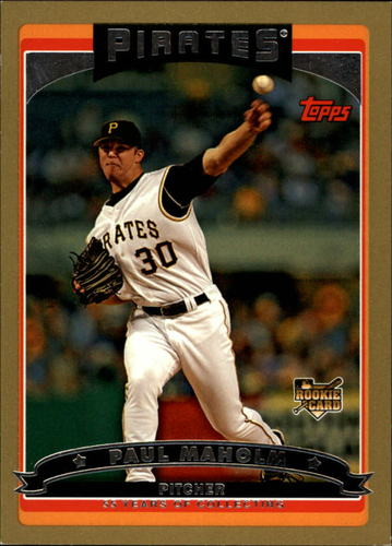 Photo of 2006 Topps Gold #645 Paul Maholm