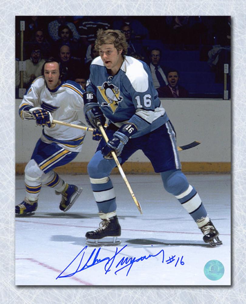 Sheldon Kannegiesser Pittsburgh Penguins Autographed 8x10 Photo