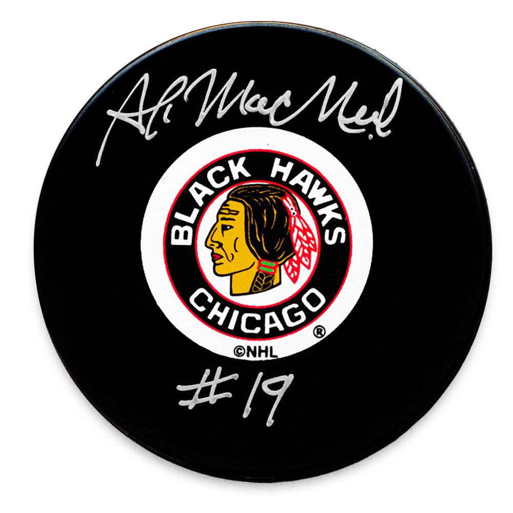 Al MacNeil Chicago Blackhawks Autographed Puck