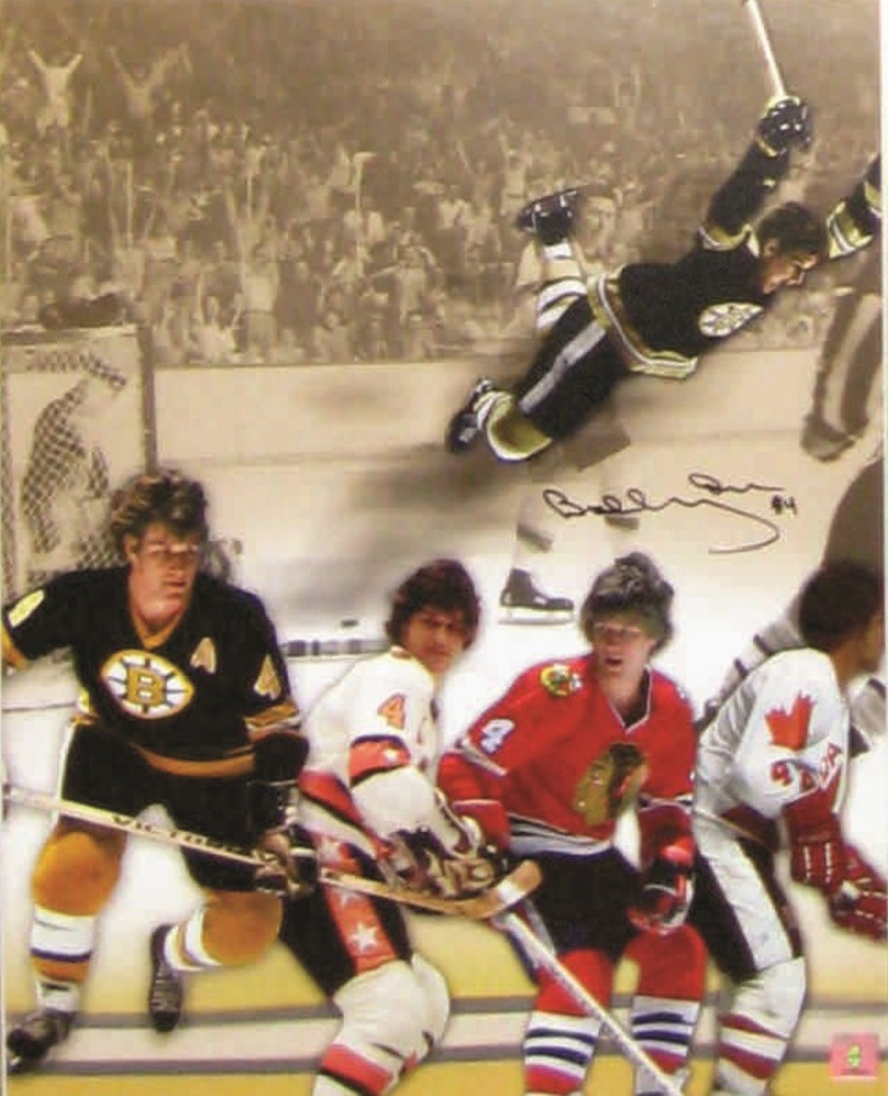 Bobby Orr - Signed 16x20 Career Collage (Bos/All-star/Chi/Team Canada)
