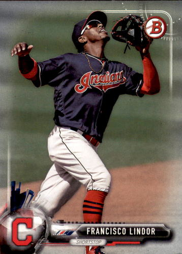 Photo of 2017 Bowman #58 Francisco Lindor
