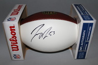 NFL - 49ERS JEREMY ZUTTAH SIGNED PANEL BALL