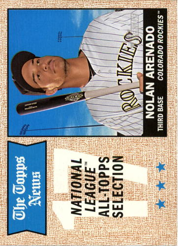 Photo of 2017 Topps Heritage #373 Nolan Arenado -