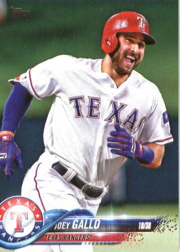 Photo of 2018 Topps #326 Joey Gallo
